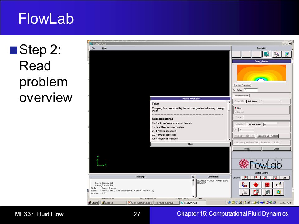 FlowLab Step 2: Read problem overview