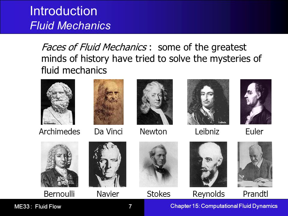 Introduction Fluid Mechanics