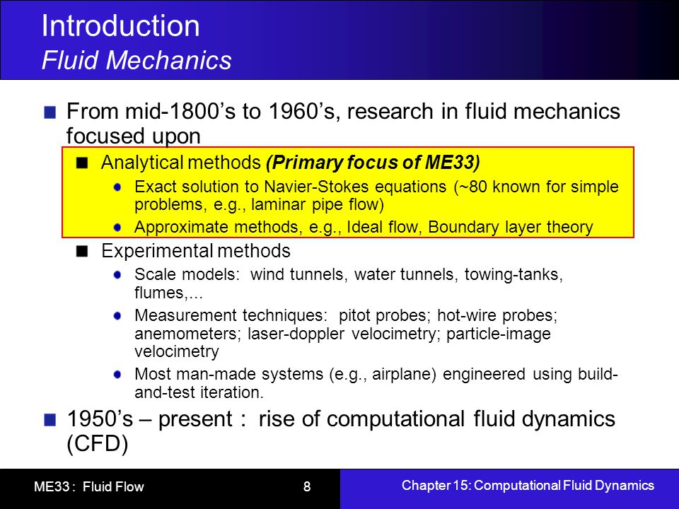 flow measurement fluid mechanics