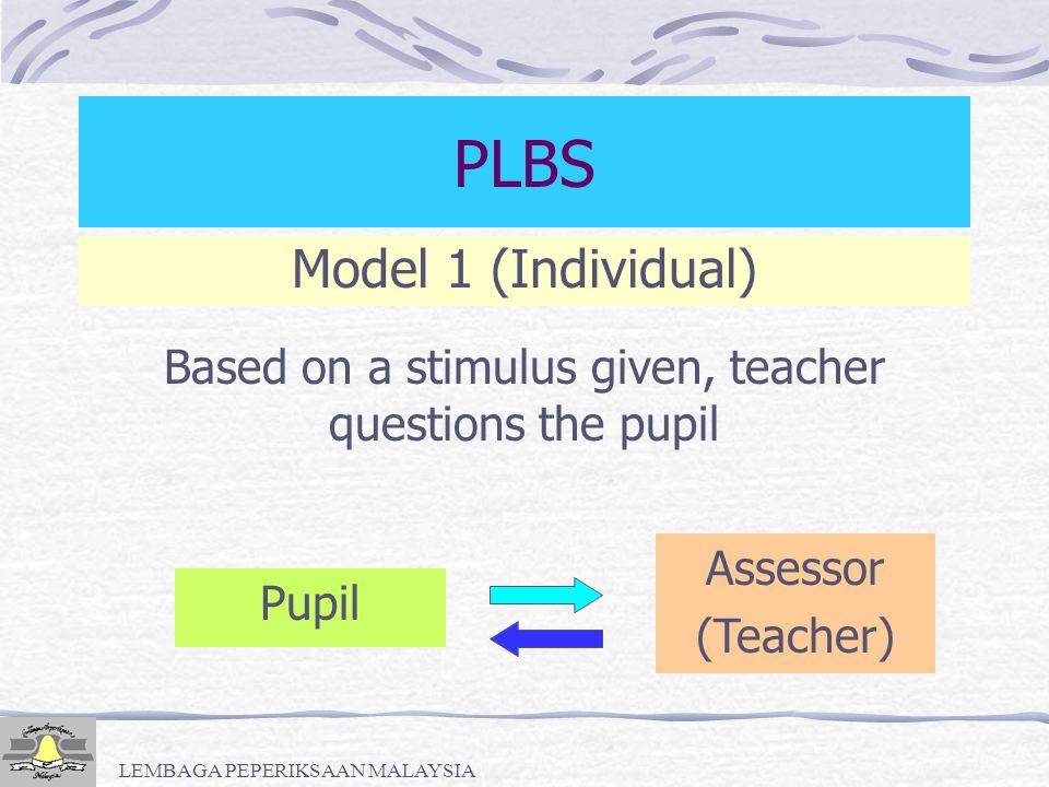PLBS Model 1 (Individual)