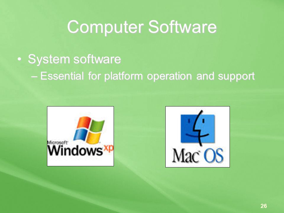 Computer Software System software