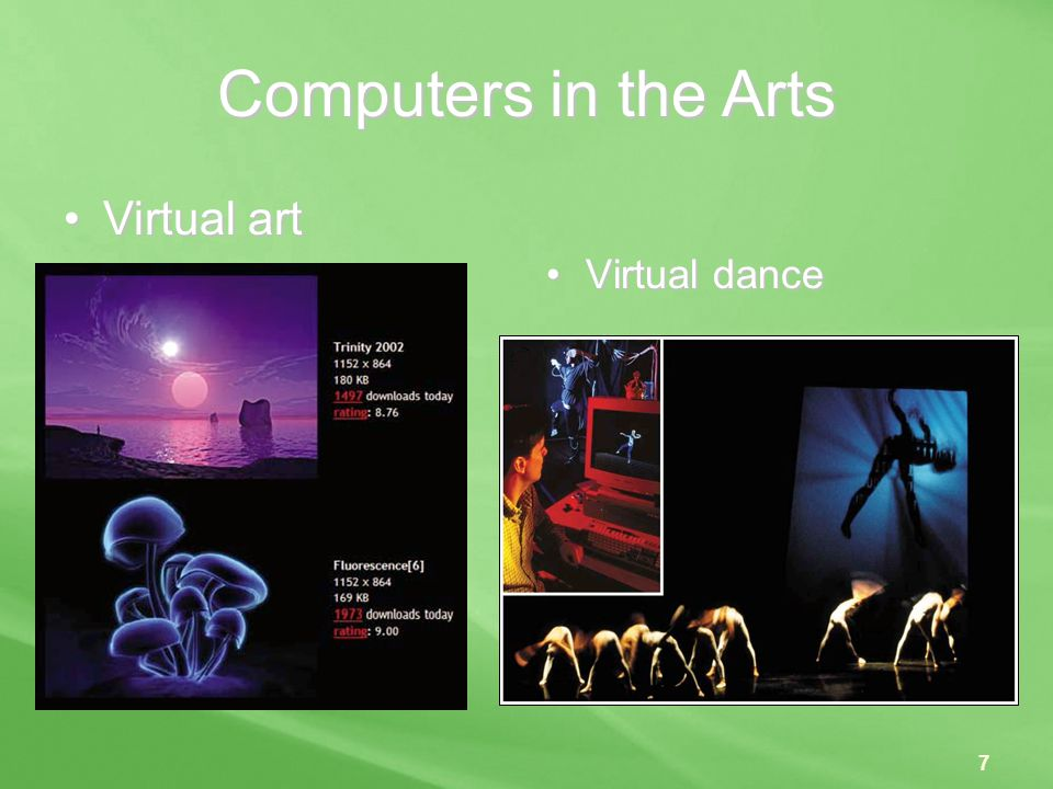 Computers in the Arts Virtual art Virtual dance