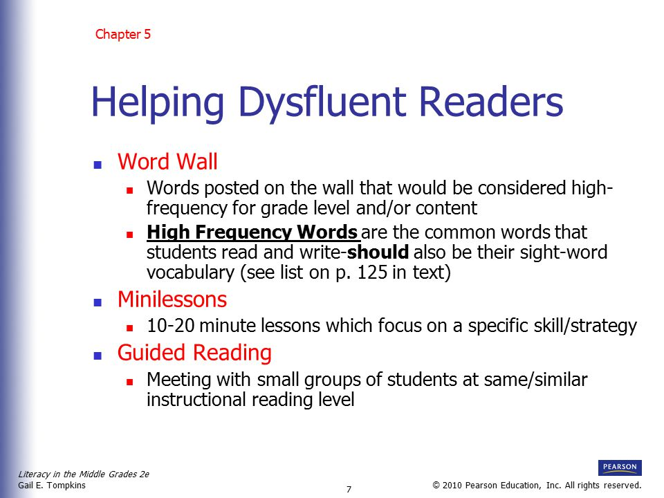 Helping Dysfluent Readers