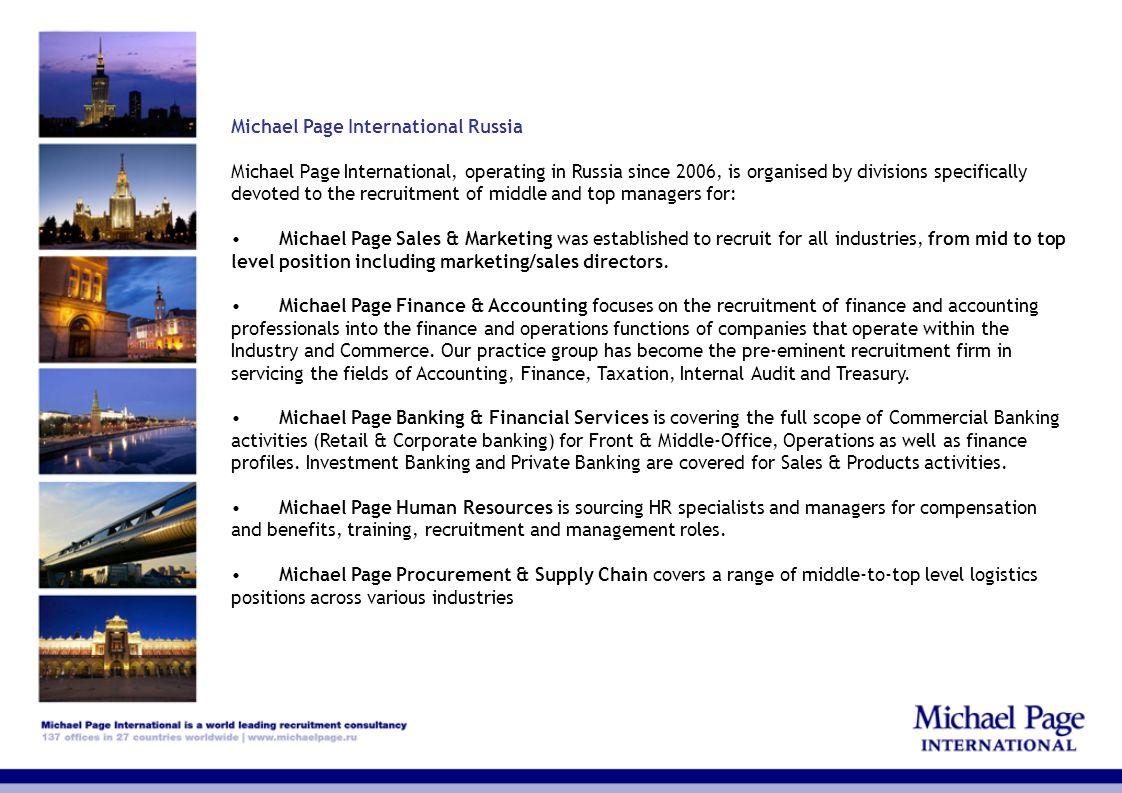 Michael Page International Russia