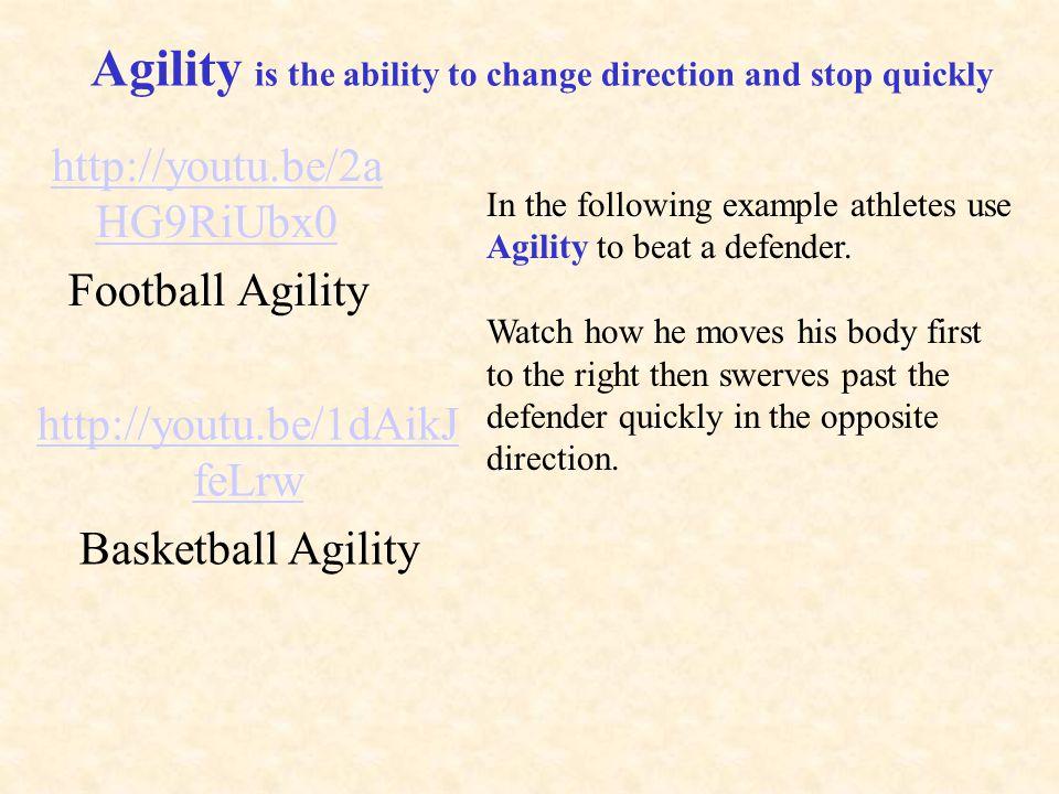 http://youtu.be/2aHG9RiUbx0 Football Agility