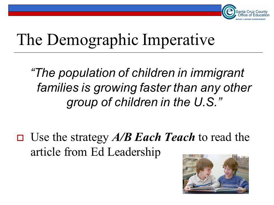 The Demographic Imperative