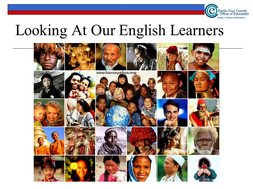 Looking At Our English Learners