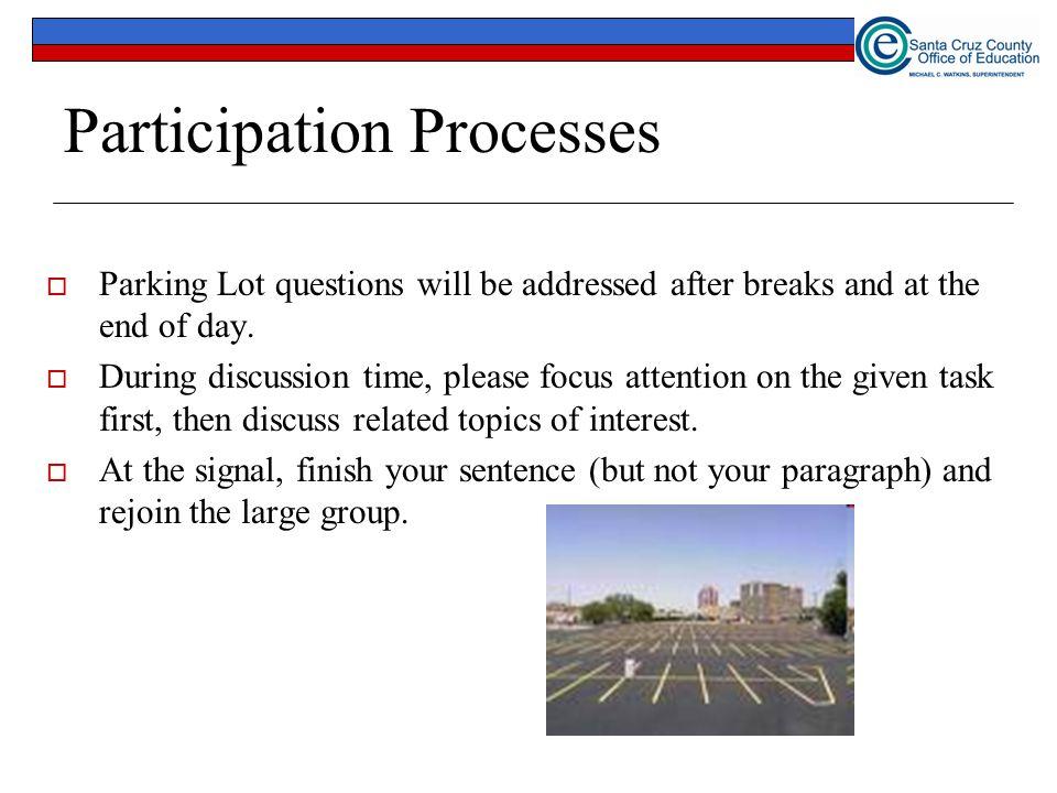 Participation Processes