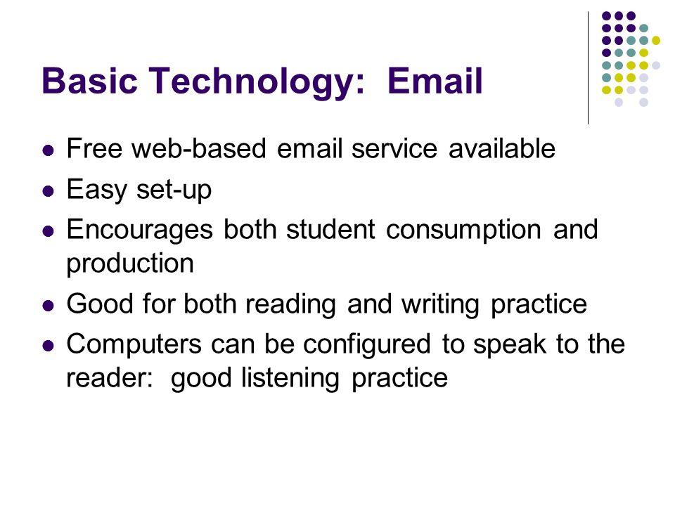 Basic Technology: Email
