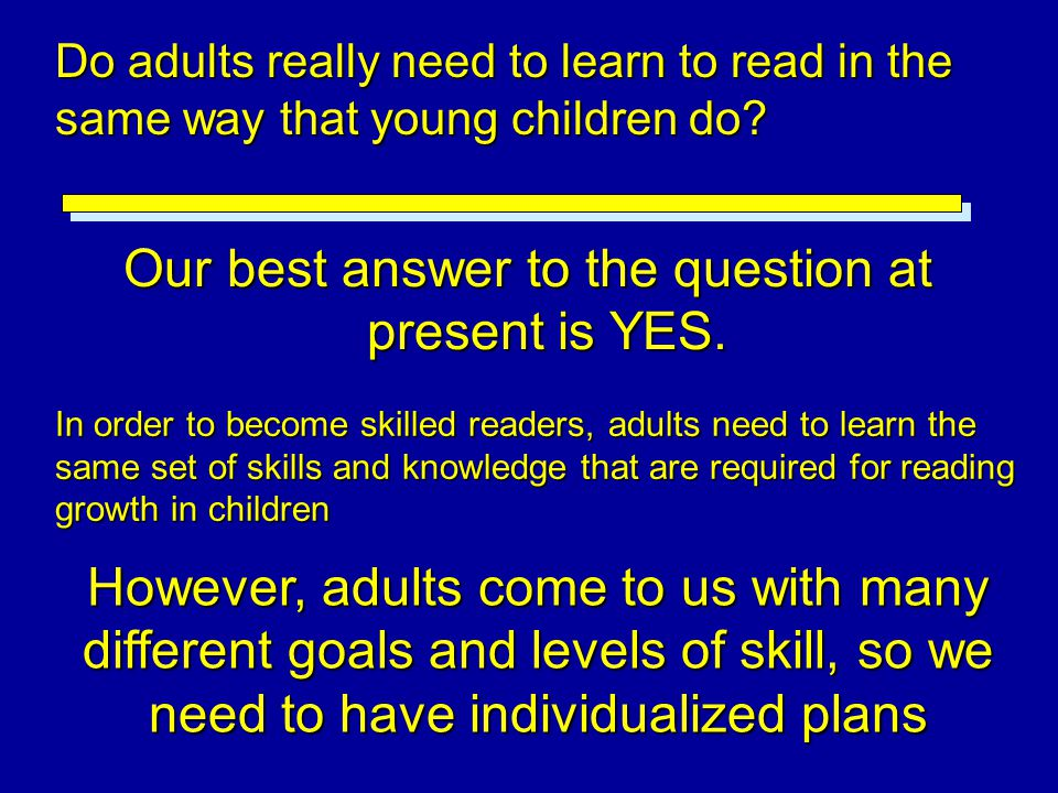 Our best answer to the question at present is YES.