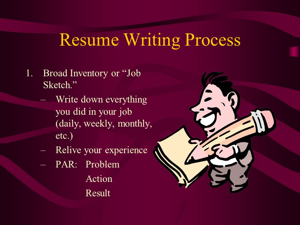 Resumes & Cover Letters - ppt video online download
