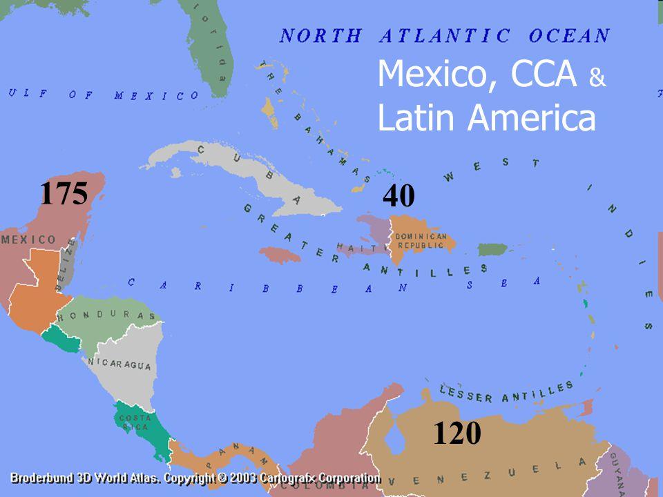 Mexico, CCA & Latin America