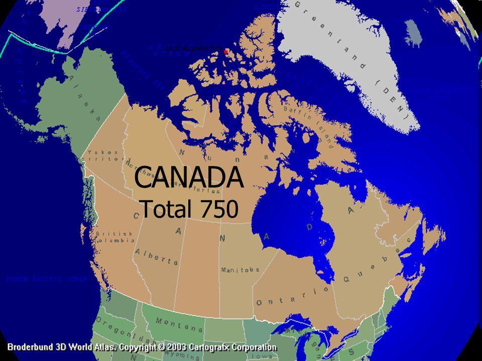 CANADA Total 750