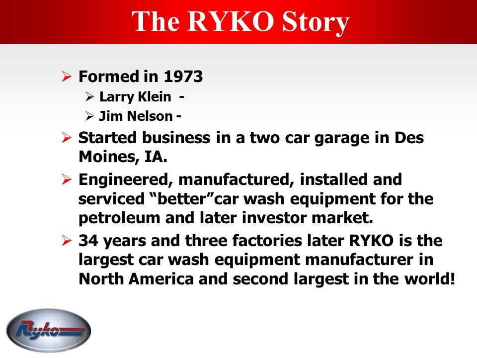 The RYKO Story Formed in 1973