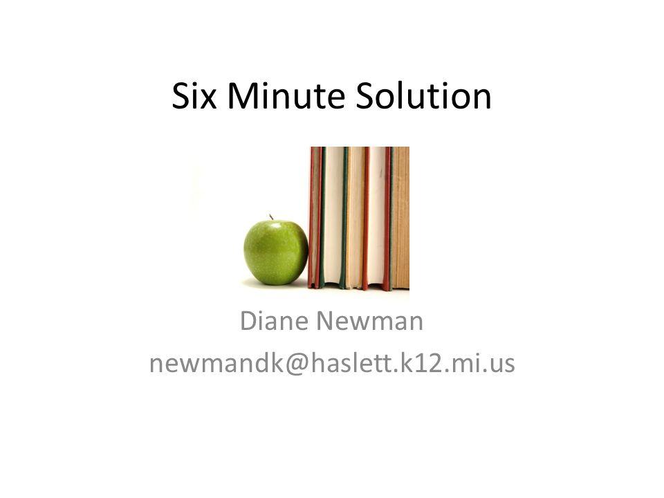 Diane Newman newmandk@haslett.k12.mi.us