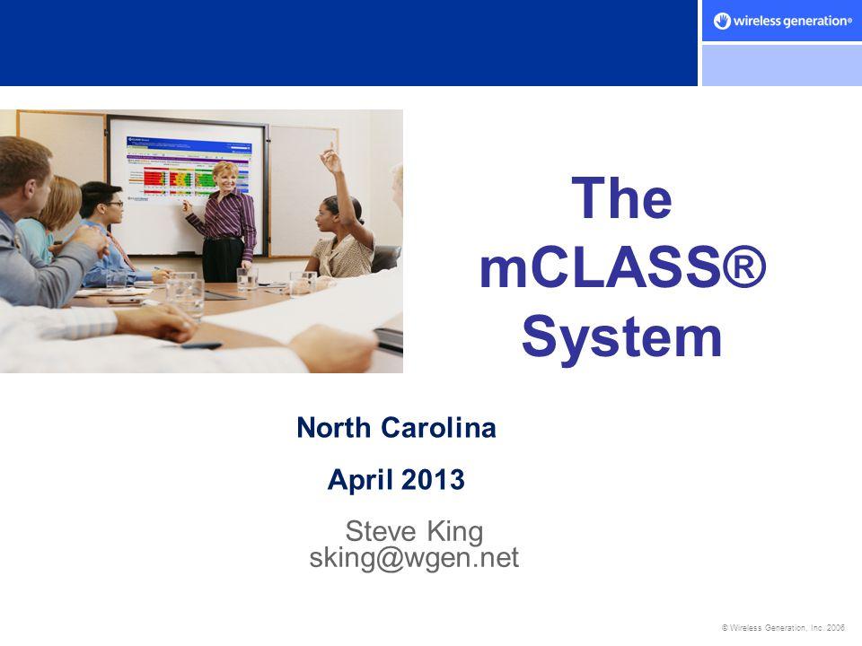Steve King sking@wgen.net
