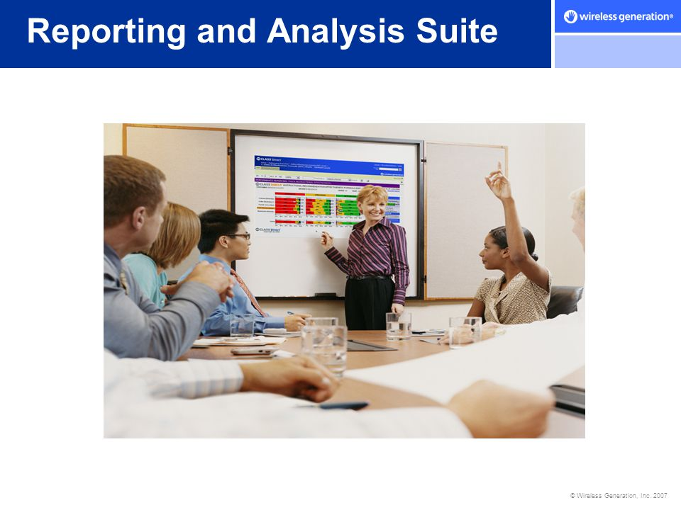 Reporting and Analysis Suite
