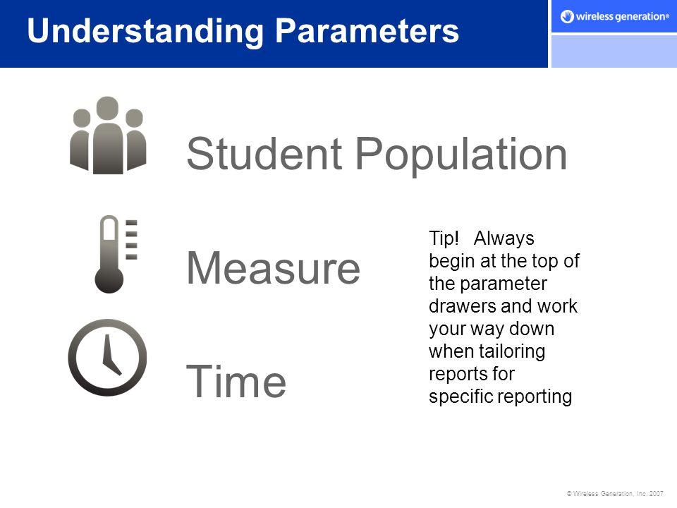 Understanding Parameters