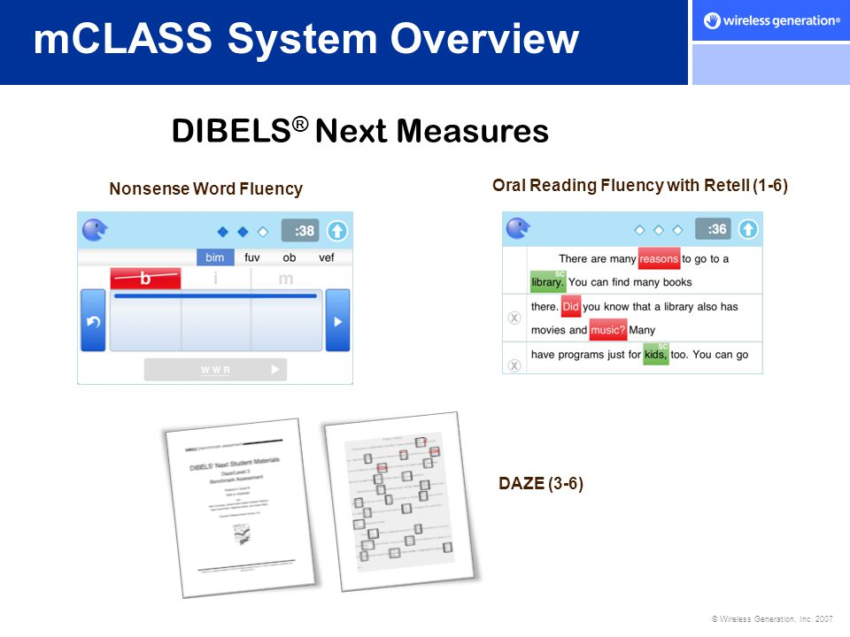 mCLASS System Overview