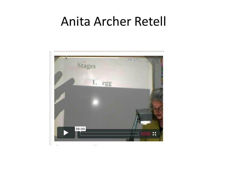 Anita Archer Retell
