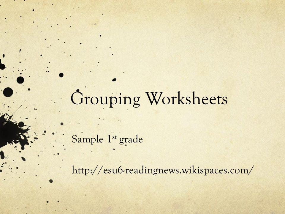 Sample 1st grade http://esu6-readingnews.wikispaces.com/