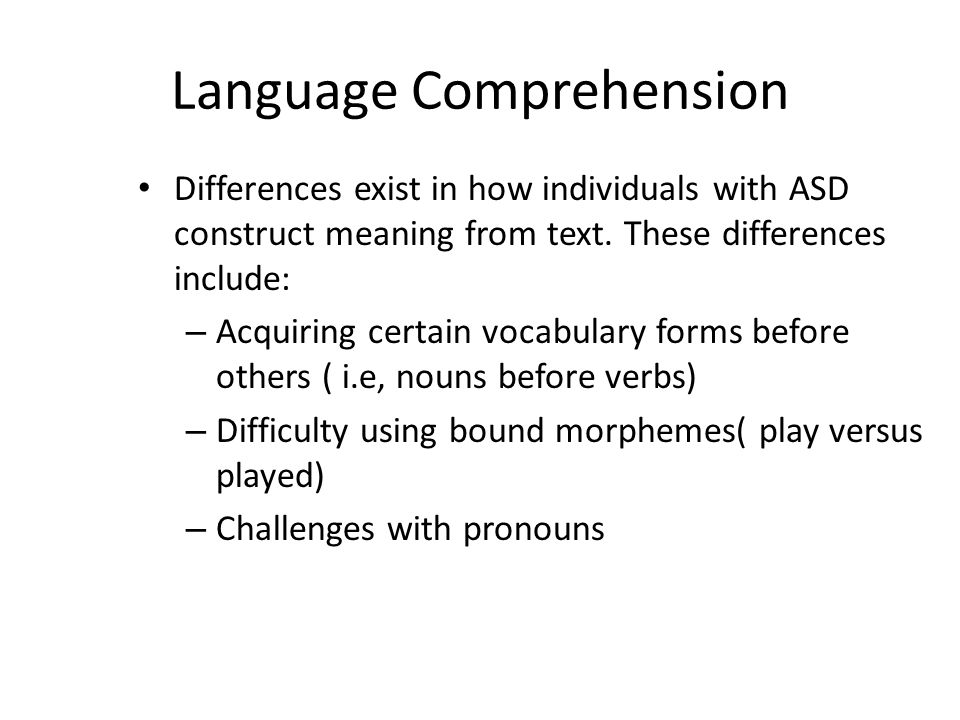language comprehension Here are strategies for teaching your child with learning and attention issues reading comprehension at home close language english español spoken language.
