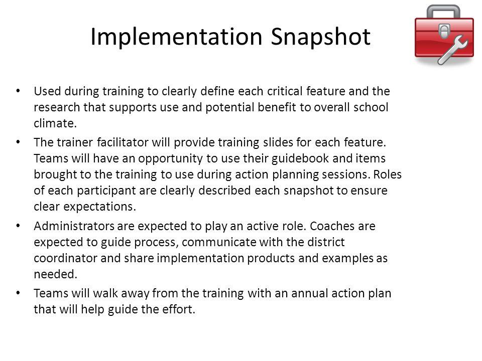 Implementation Snapshot