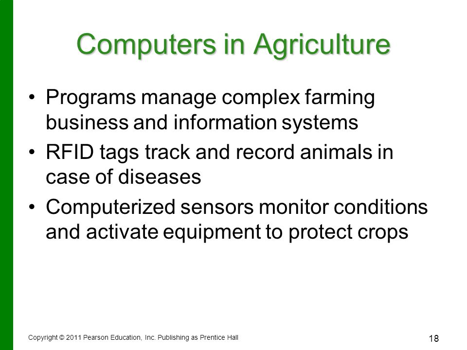 Computers in Agriculture