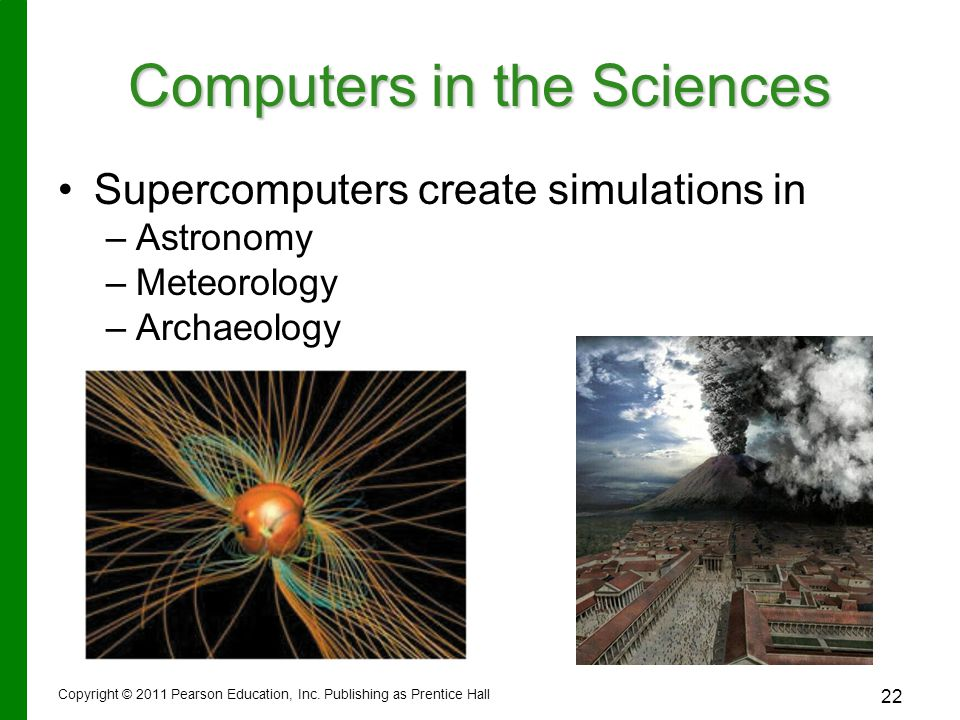 Computers in the Sciences