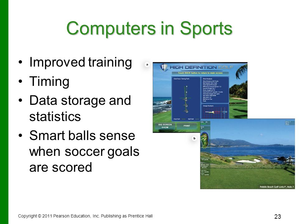 Computers in Sports Improved training Timing