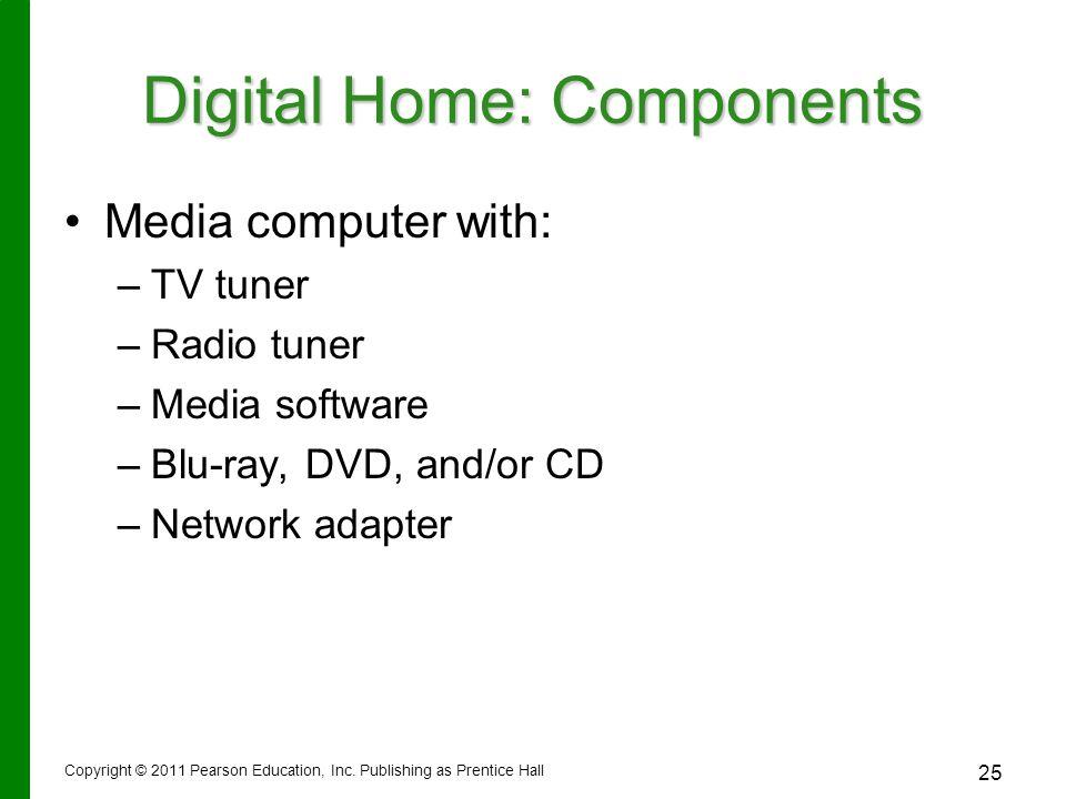 Digital Home: Components