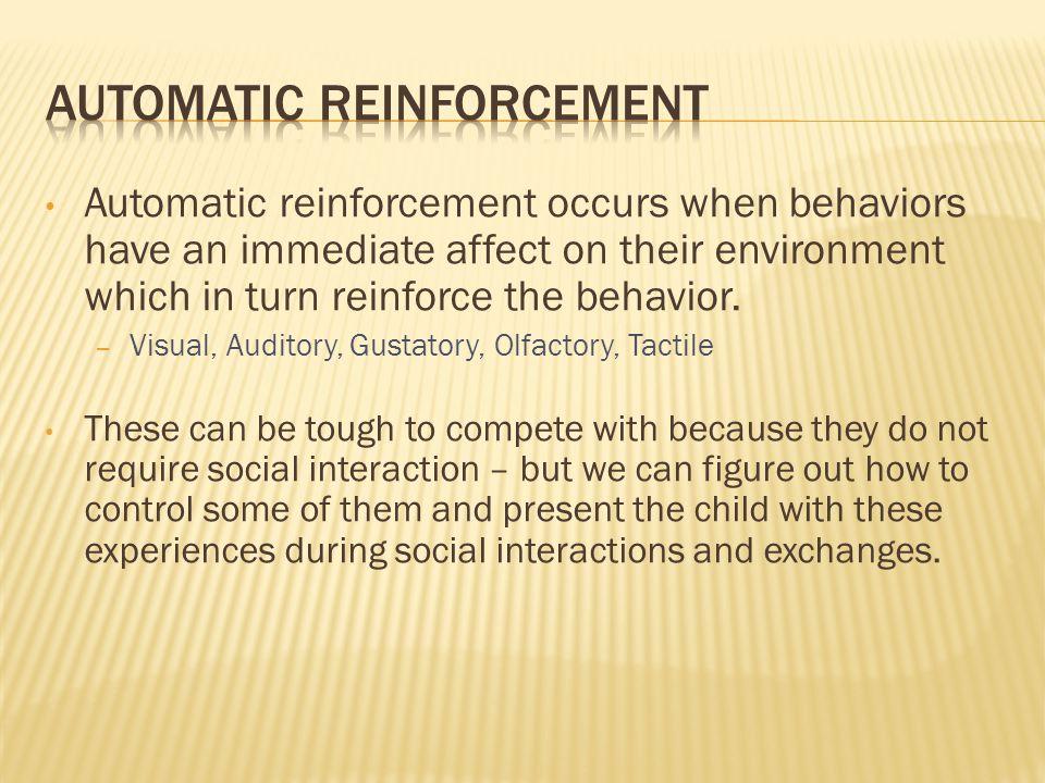 Automatic Reinforcement
