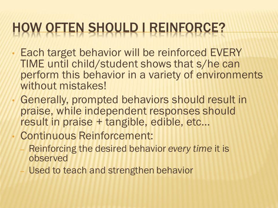 How Often Should I Reinforce