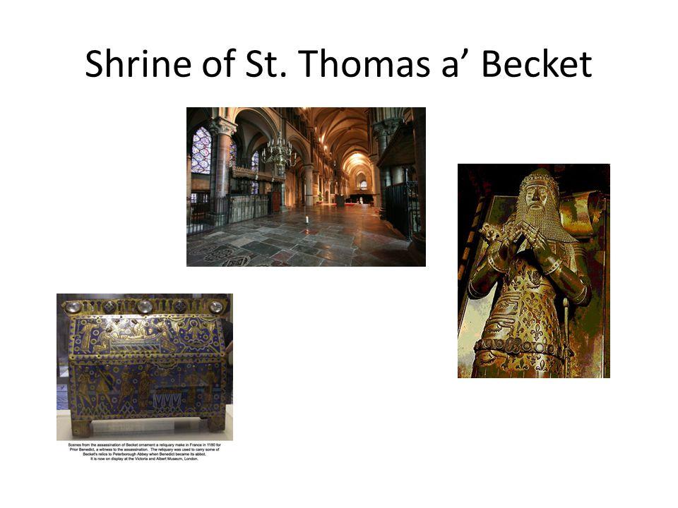 Shrine of St. Thomas a' Becket