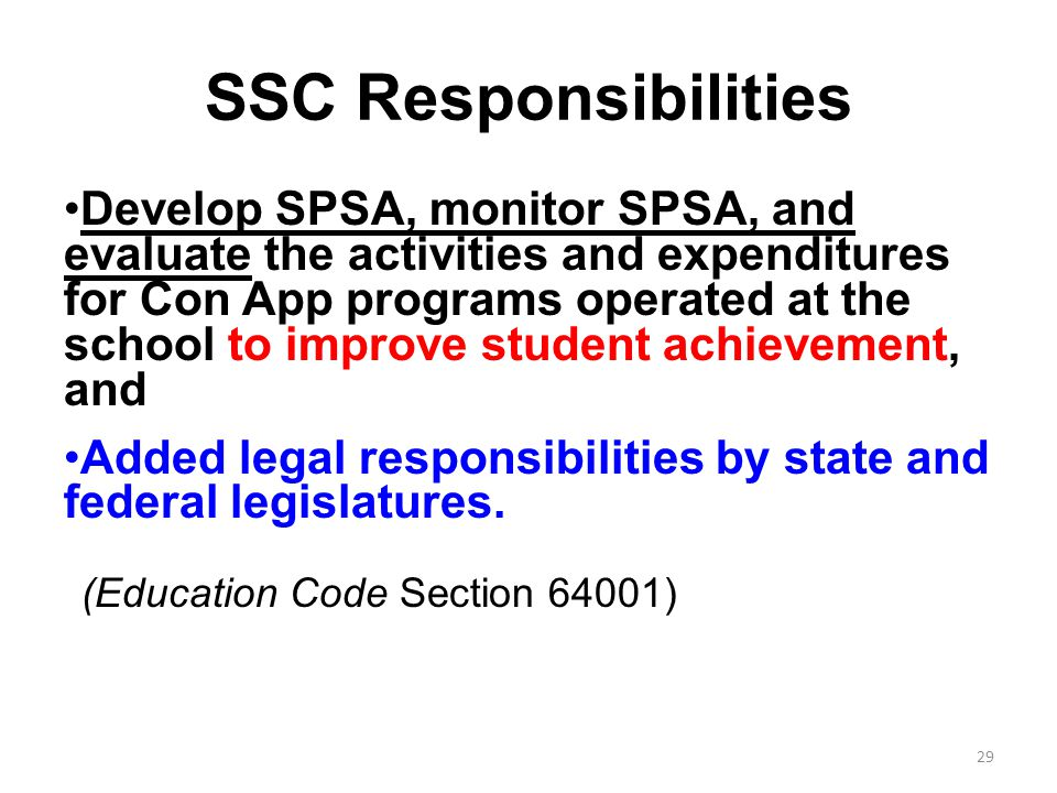 (Education Code Section 64001)