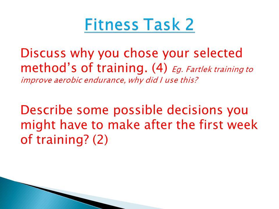 Fitness Task 2
