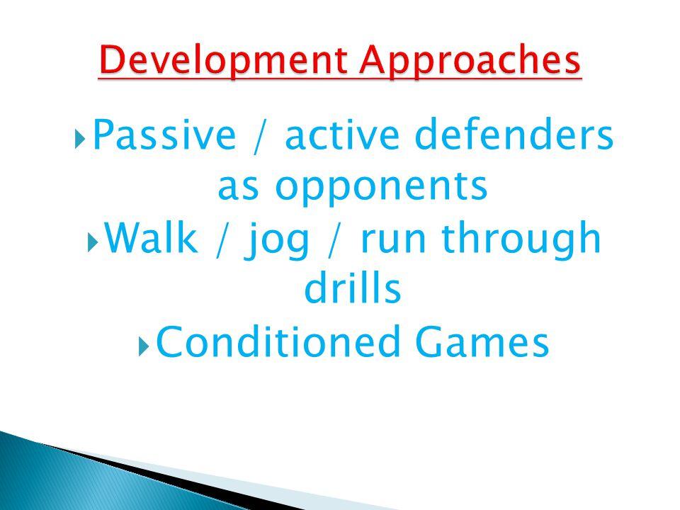 Development Approaches