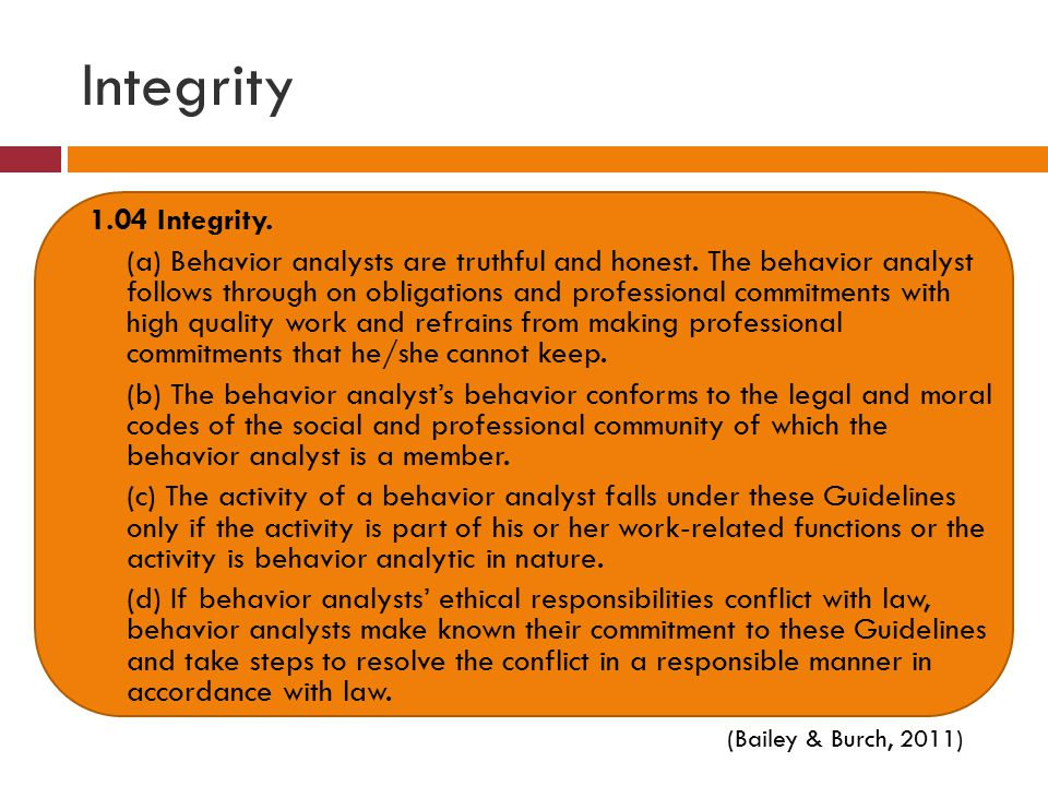 Integrity 1.04 Integrity.