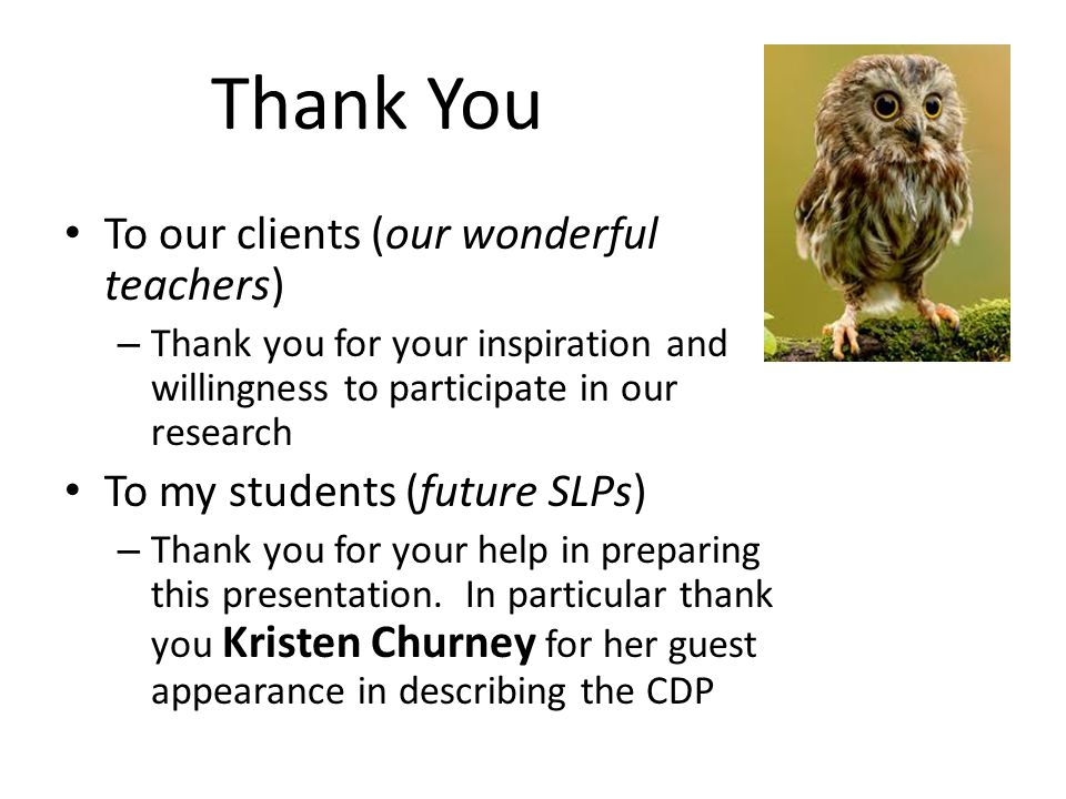 Thank You To our clients (our wonderful teachers)