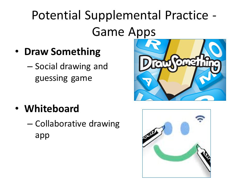 Potential Supplemental Practice - Game Apps