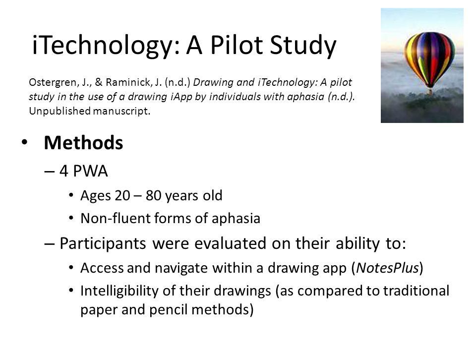 iTechnology: A Pilot Study