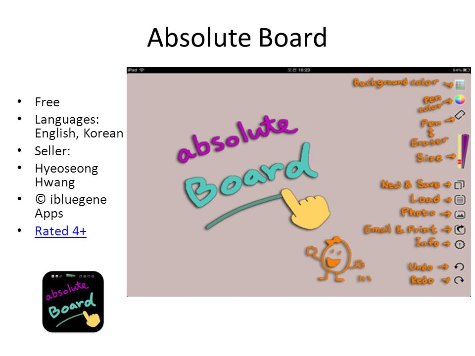 Absolute Board Free Languages: English, Korean Seller: Hyeoseong Hwang