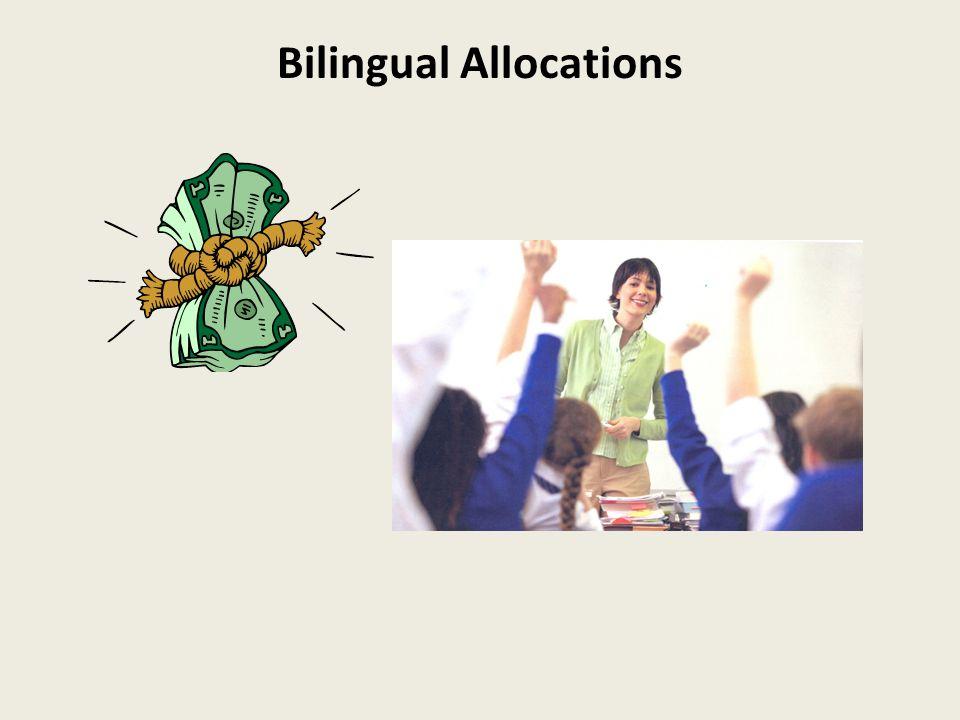 Bilingual Allocations