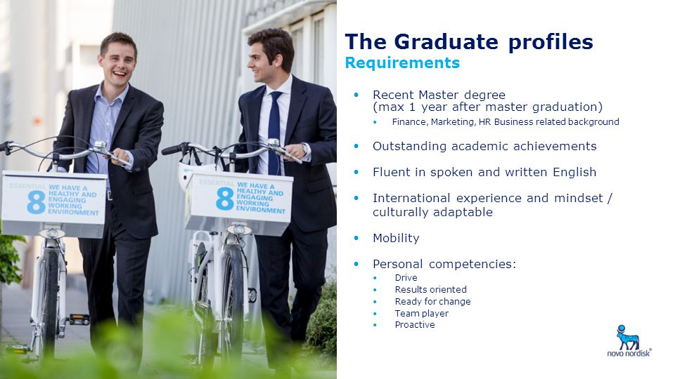 The Graduate profiles Requirements