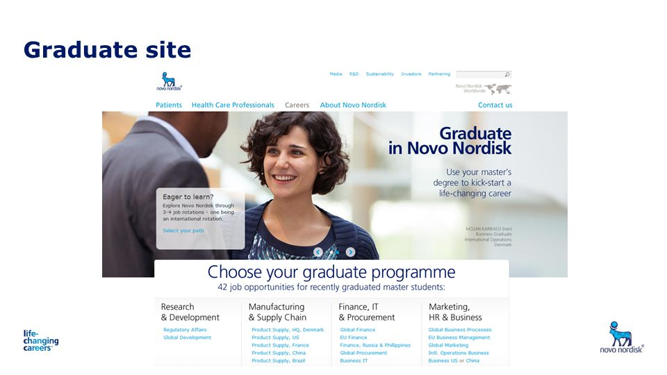 Graduate site