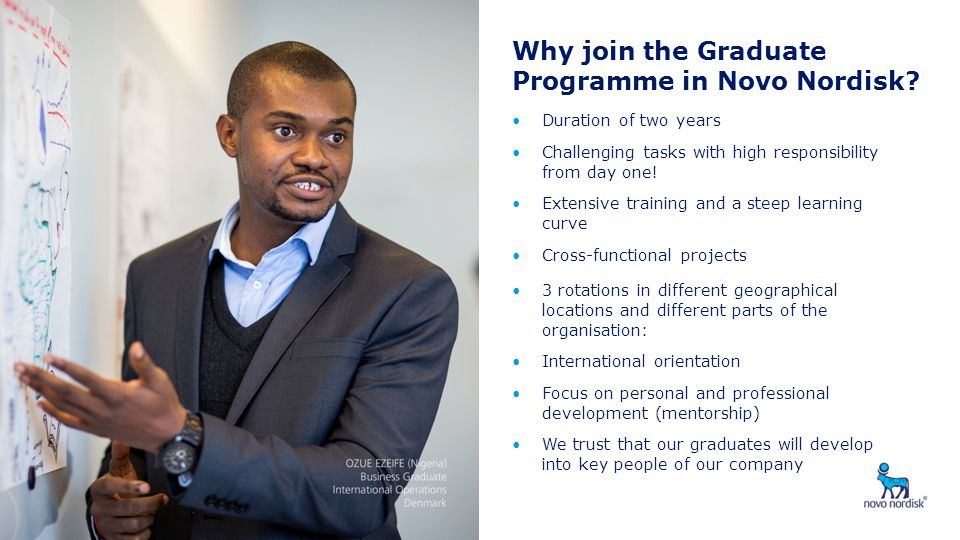 Why join the Graduate Programme in Novo Nordisk