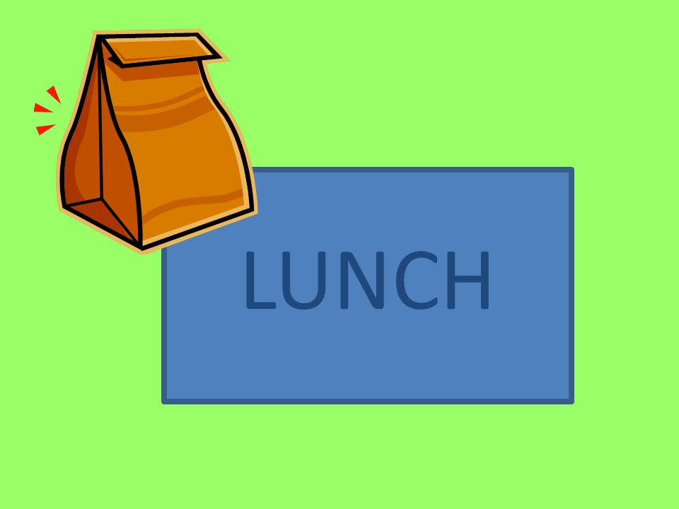 LUNCH 11:30-12:30