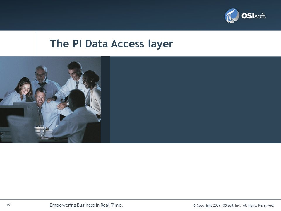 The PI Data Access layer