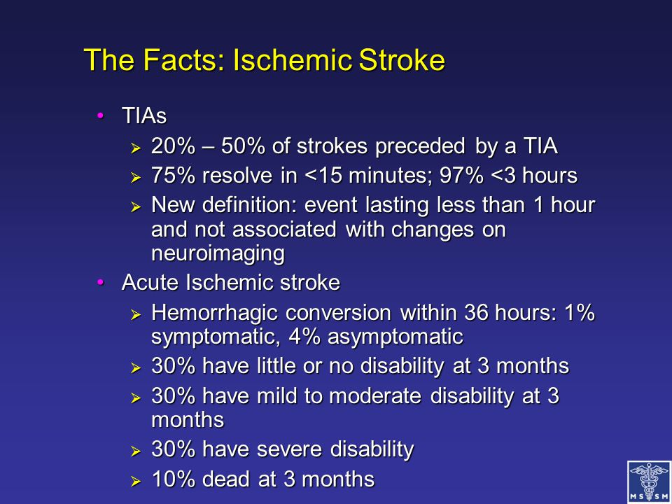The Facts: Ischemic Stroke
