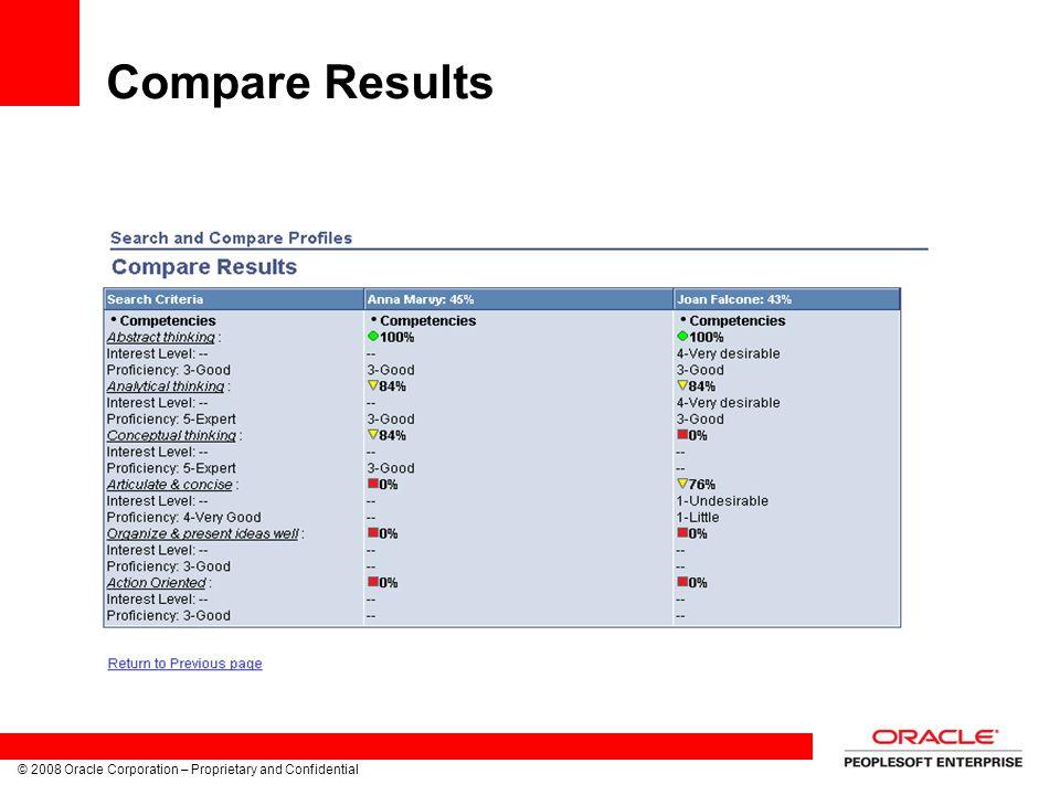 Compare Results